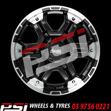 "20"" INCH ADVANTI TRAKKER WHEELS 20X9 6x114.3 35P COLORADO RANGER DMAX HILUX"