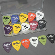 24pcs Acoustic Electric Guitar Picks Plectrums w/ Pick Case Assorted 6 thickness