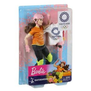 2020 Tokyo Olympic Games Barbie - Skateboarding. Brand New Collector Doll. NRFB.