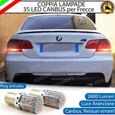 COPPIA LAMPADE PY21W CANBUS 35 LED BMW SERIE 3 E92 FRECCE POSTERIORI