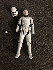 Star Wars 3.75 Figure Female Stormtrooper Rare