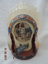 Bradford Exchange Mystic Nobility Head Dress(2002)by Russ Docken-number A5295