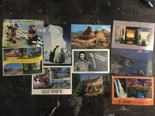 Great 10 Picture RPPC Postcard USA Lot