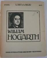 L'art et le Beau, Vol. II: William Hogarth - Buch - in franz. Sprache y4-194
