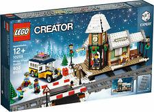 LEGO Creator Winter Village Station 10259 Expert Level Set New in Sealed Box