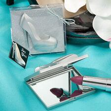 24 High Heel Shoe Compact Mirrors Bridal Shower Wedding Favors