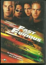 DVD Fast and Furious. Vin Diesel, Paul Walker