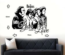 The Beatles Wall Art Sticker/Decal
