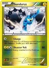 THUNDURUS Holo Rare Pokemon NM Card PROMO Black Star BW41