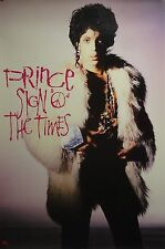 Prince 23x35 Sign Of The Times Poster 1987