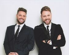 Boyzlife Brian McFadden Keith Duffy HAND Signed 8x10 Photo Autograph Westlife B