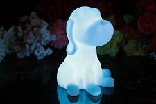 20cm Allumer Chien Lampe Nuit Capteur Lumière D'ambiance pour enfants par
