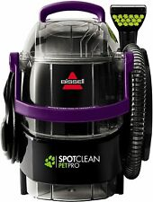 BISSELL SpotClean Pet Pro Portable Carpet Cleaner, 2458 FREE SHIPPING