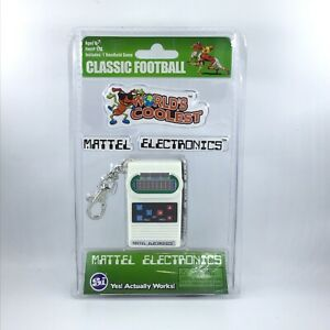 Classic Electronic Football Handheld Video Game / Vintage / Keychain / Mattel