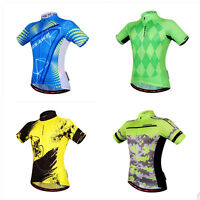New Hot Sale Racing Team Mens Cycle Jersey Bicycle Short Sleeve Tops Shirt Wear