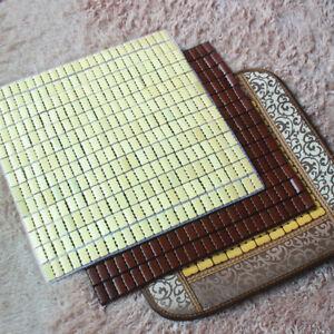 Mat for seat summer cool mat bamboo mahjong mat car seat mat office chair mats