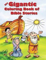 The Gigantic Coloring Book of Bible Stories (Paperback or Softback)