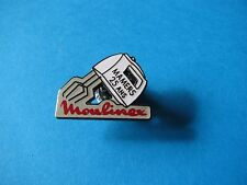 Moulinex Food Mixer pin badge, VGC. Enamel. 25 Ans (Years)