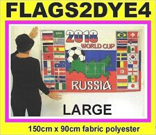 Russia flag World cup football flag Russian soccer included world flags (group)