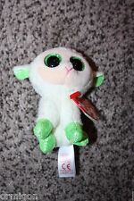 "Ty Basket Beanie Boos ~ LALA the 3"" Easter Lamb ~ 2015 Release ~ NEW"