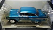 1/18 HIGHWAY 61 DICK LANDY 1957 CHEVROLET BEL AIR SEDAN BLUE