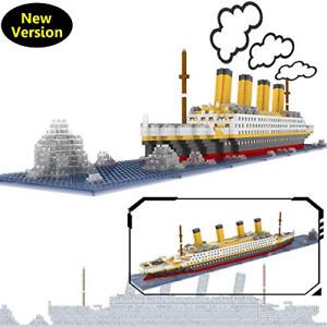 OneNext Titanic Model Building Block Set 1900pcs Mini Blocks DIY Toys Gift for
