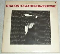 """""""USED"""" VINYL LP by DAVID BOWIE """"STATION TO STATION"""" / APL1-1327 (1976) TAN LABEL"""