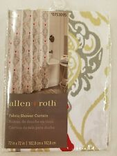 Allen + Roth Fabric Shower Curtain 72in.x72in.
