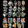 100pcs/lot Horror Stickers Collection Decal PVC Sunproof For Laptop Skateboard