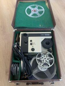 Vintage Eumig 614D 8mm Film Projector   Superb Condition With Original Case