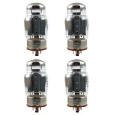 New Plate Current Matched Quad (4) Tung-Sol Reissue 6550 KT88 Coke Bottle Tubes
