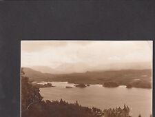 Postcard-Scotland-View of Loch Awe&Ben Lui Stamp/Postmark 1944