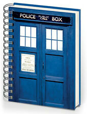DOCTOR WHO TARDIS A5 NOTEBOOK BRAND NEW GREAT GIFT SCHOOL OFFICE