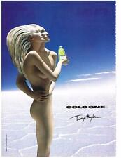 PUBLICITE ADVERTISING  2002  THIERRY MUGLER  COLOGNE               140213