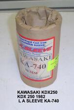KAWASAKI KDX250 KDX 250 1982 L A SLEEVE KA-740 NEW