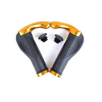 Bike Handlebars Bicycle Grips Ends Cycling Bars Rubber Mountain MTB Lock-On