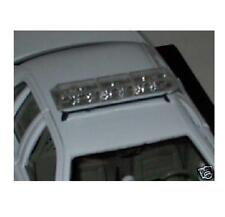 """NEW - 1:27 SCALE """"CLEAR"""" - """"UNCOLORED"""" TOY STRAIGHT CODE3 STYLE POLICE LIGHTBAR"""