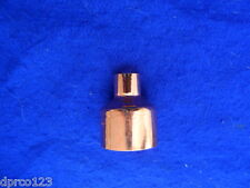 """2"""" x 1/2"""" COPPER REDUCER BUSHING (2"""" DON'T FIT OVER PIPE) (1/2"""" FITS OVER PIPE)"""