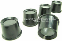 5 Pc EYE LOUPE SET Hands Free Hobby Tool Magnifier Magnifying Stamps Coins New i