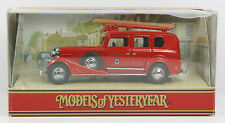 MATCHBOX MODELS OF YESTERYEAR - Y61 1933 Cadillac Fire Engine