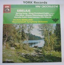 ESD 7160 - SIBELIUS - Spring Song BERGLUND Bournemouth SO - Ex Con LP Record