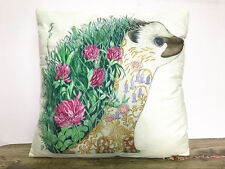 1x Simple painting Cartoon Hedgehog Home Decor sofa Cushion Covers Pillow Case