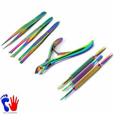 Classic Titanium Gifts For Her Girl Friend Eye Brow Nail Scraper Cuticle-Nippers