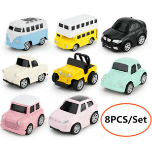 Baby Toys Pull Back Cars Plastic Alloy Truck Vehicle Toy Child Mini Car Model