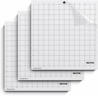 "Nicapa StandardGrip Cutting Mat for Silhouette Cameo Craft Vinyl Cutter 12""x12"""