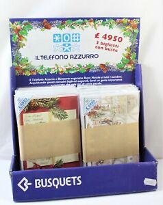 Biglietti Augurali Vintage1.989 Telefono Azzurro da collezione Serie Completa