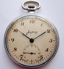 Serviced  Vintage MOLNIA Russian  POCKET Watch