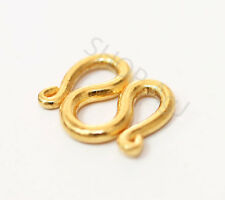 22K 22KT SOLID PURE REAL GOLD CLASP FOR  23K 24K baht NECKLACE. for 2 baht chain