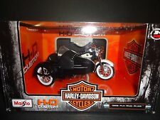 Maisto Harley Davidson FLH Duo Glide 1958 Black and White with Side Car 1/18