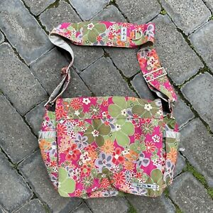 JuJube Be Floral Diaper Bag Baby Tote Carry All Multi Pocket Bright Colourful